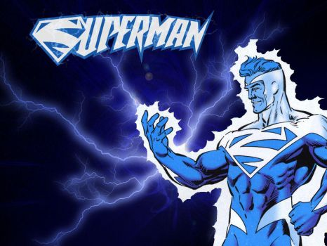 Electric Blue Superman 2 by Superman8193
