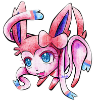 Sylveon Chibi by FaithWalkers