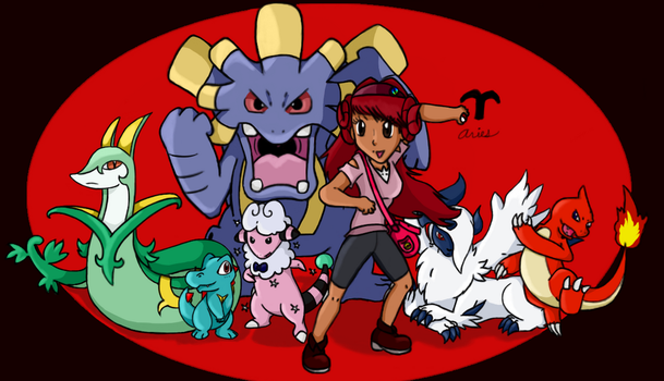 Pokemon Trainer Arianne (Aries) by Call-Of-The-Indie