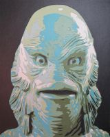 Creature from the Black Lagoon by Papergizmo