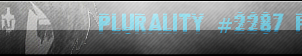 POINT COMMISSION: Plurality #2287 Fan Button by InvaderIka