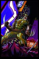 COLOR:wolverine tokyo cover by edmcguinness by Tadpole7