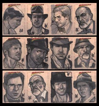 Even More Indy Cards by AdamHughes