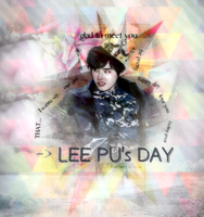 {Graphic-#1} Lee Pu's day by larry1042001