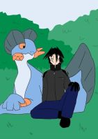 Issac and Swampert by Vye-Brante