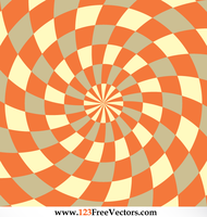 Optical Illusion Background Illustrator by 123freevectors