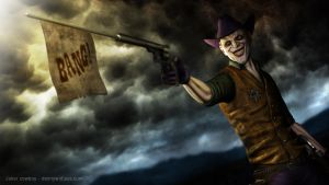 Joker cowboy by zeal08