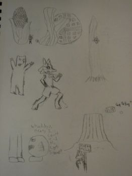 Yellowstone Doodles by Sithcario