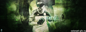 Diego Ribas by colorart-gfx