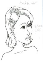 Could be Kate Beckinsale by Residentartist101