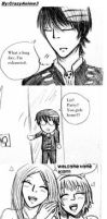 Soul Eater Crack Comic:Kid,Liz and Patty - Lists by CrazyAnime3