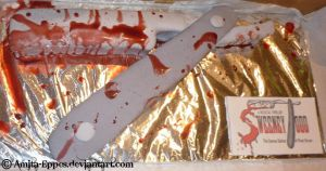 Sweeney Todd cake by Amita-Eppes