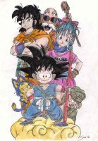 Dragon Ball by Noloter