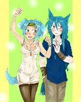 Collab : Nanty et Blueberry by stalfoss