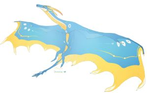 Ukrainian dragon by azira-star-wind