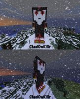 Shadow The Hedgehog Minecraft by Shad0wKillr