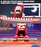 Why Make Fuse Angry? (Oddbods) by Kulit7215