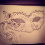 Underneath the mask by Melissatulloch