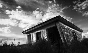 Shed BW by IraMustyPhotography