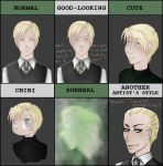 Style Meme - Draco Malfoy by Chocolatier-Mihael