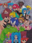 .:Crossover:. by marioandsonic-14