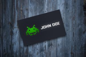 Space Business Card by Freshbusinesscards