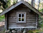 Old cottage by jusuart-stock