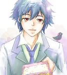 Hatoful boyfriend by mirblu