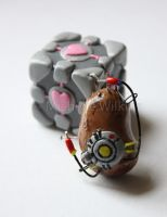 Potato GLaDOS by DragonsDust