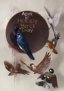 1st April - Bird Day by Orphen-Sirius