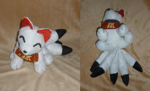 5 tailed inari fox : more pics by goiku