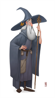 Gandalf by CamaraSketch