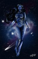 The Goddess 2012 by Queen-Uriel
