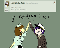 Question : Cyclops Time by Ask-Milo-and-Brandon