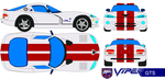 viper GTS Colonial Viper color by bagera3005