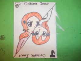 Jack Orihime Colored by AlyHisanaKurosaki16