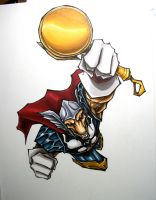 beta ray bill by mjfletcher