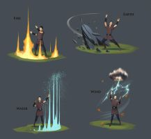 Runescape skilling by JohnMcCambridge