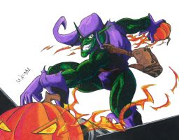 Green Goblin by MikeES