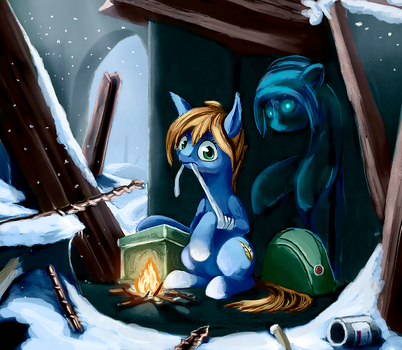 Behind (collab) by Terrafomer