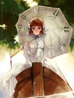 Lace parasol by rahurns