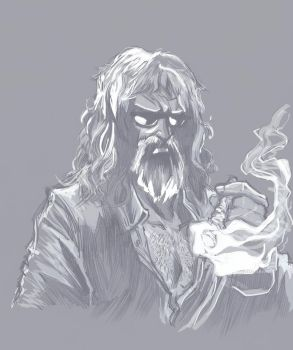 Old Man Rough by RodBuddah