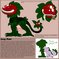 MLP Monsters Series -Snap Plant- by Kao-Ko