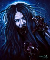 Lycanthropy by mippieArt