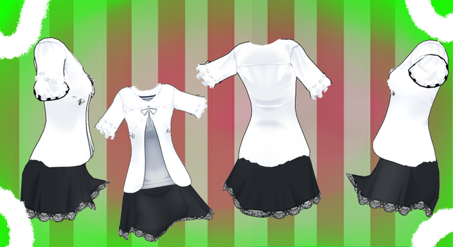 MMD Outfit 55 by MMD3DCGParts