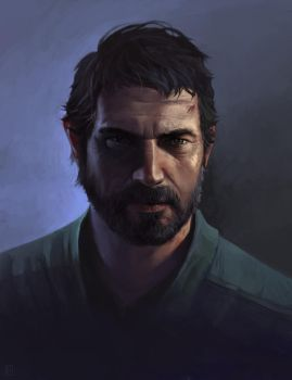 Joel from The Last of Us by DziKawa
