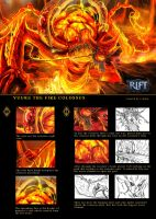 VUURE THE FIRE COLOSSUS detail by R-DRAIN