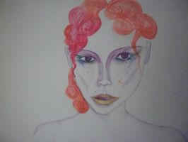 Venus (unfinished) by FoolsGolde