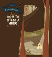 Webcomic - TPB - How to steal a ship - cover by Dedasaur