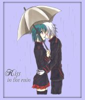 Kiss in the rain. by TheRiverAlchemist